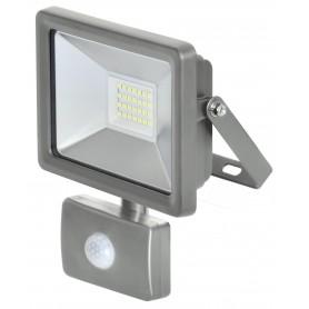 Proiettore led piatto - 30w - c/sensore