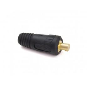 Connettore spina per cavo - mm2 35-50 m. - mujelli