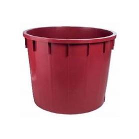Mastello rosso - 110 lt.