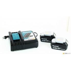 Caricabatteria makita - 197624-2 - + 2 batterie